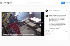 Terekam CCTV, Penjaga Tempat Cuci Steam di Bekasi Sempat Adu Celurit dengan Perampok
