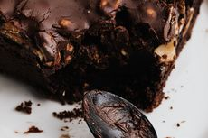 Resep Fudgy Brownies Lumer, Rasa Cokelatnya Enak