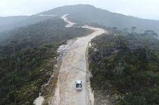 Jalan Trans Papua, Menembus Gunung dan Membelah Bukit