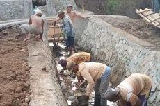 Kementan Rehabilitasi Talang Air Saluran Irigasi yang Putus di Lombok Barat