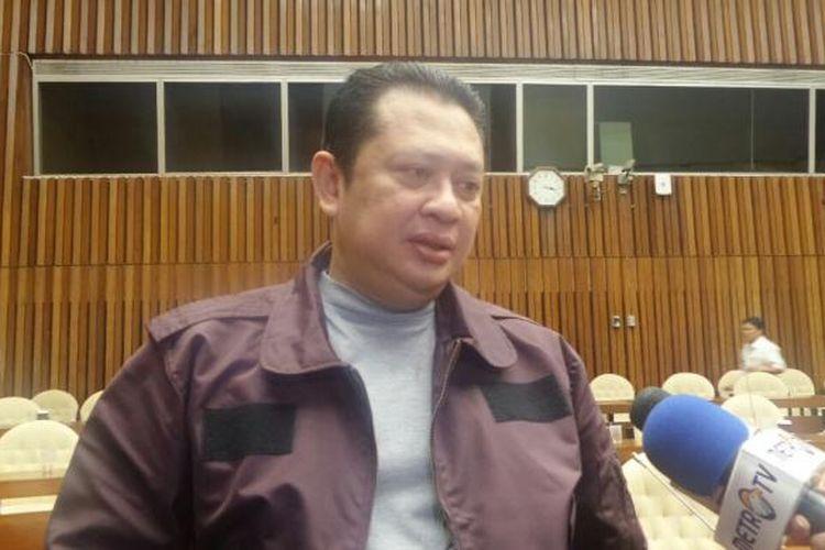 Ketua Komisi III DPR dari Fraksi Golkar, Bambang Soesatyo di Kompleks Parlemen, Senayan, Jakarta, Jumat (30/9/2016)