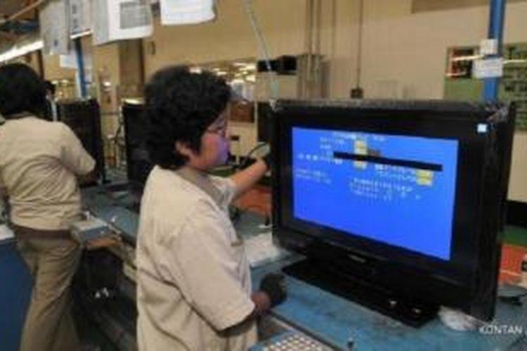 Salah satu pabrik Toshiba