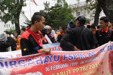 Buruh Tuntut Hapus Upah Murah dan Tolak Tenaga Kerja Asing