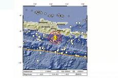 Gempa Malang M 5,3 dan Daerah yang Merasakan Getaran...