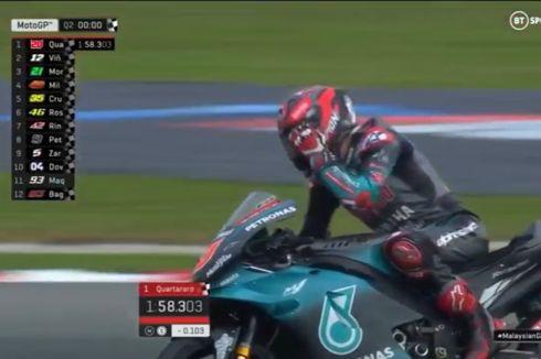 Hasil Kualifikasi MotoGP Malaysia, Quartararo Terdepan, Marquez Tercecer