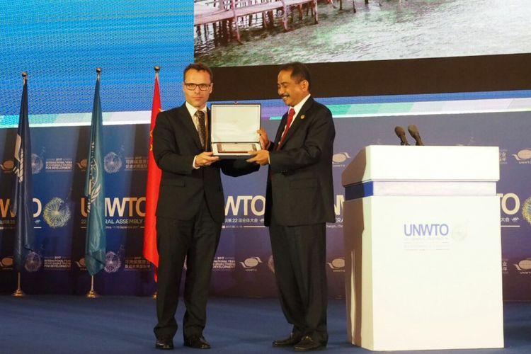 Indonesia memenangkan kategori video pariwisata terbaik di area Asia Timur dan Pasifik, serta People Choice Award.