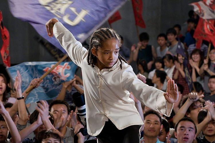 Film The Karate Kid (2010) yang dibintangi Jaden Smith dan Jackie Chan