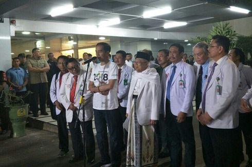 Jokowi Sebut Jusuf Kalla Bersedia Jadi Ketua Tim Pemenangan