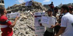 Bantu Warga Palestina, Dompet Dhuafa Distribusikan 500 Paket Food Bank
