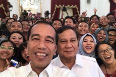 Usai Bertemu, Jokowi dan Prabowo