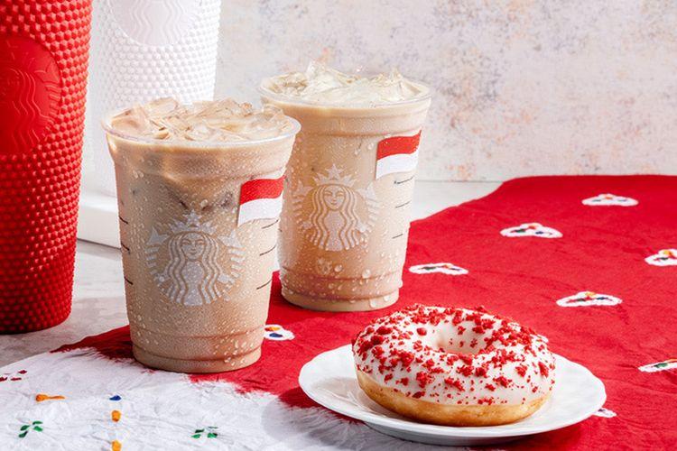 Starbucks Rilis Menu dan Tumbler Edisi Kemerdekaan RI