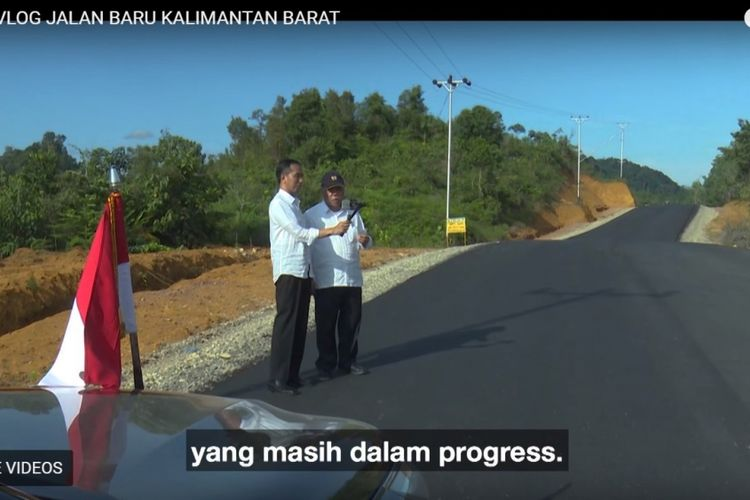 Presiden Joko Widodo meminta Menteri PUPR Basuki Hadimuljono menerangkan target pengerjaan  jalur Putussibau-Nanga Badau di Kalimantan Barat, sepanjang 170 kilomter. Kepada Jokowi, Basuki menyatakan, pengerjaan proyek tersebut paling lambat rampung 2018.