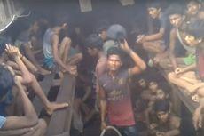 Video Eksklusif Ungkap Etnis Rohingya Dipukuli di Perahu oleh Penyelundup