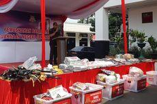Kejari Jakarta Barat Musnahkan 1.321 Barang Bukti Narkoba