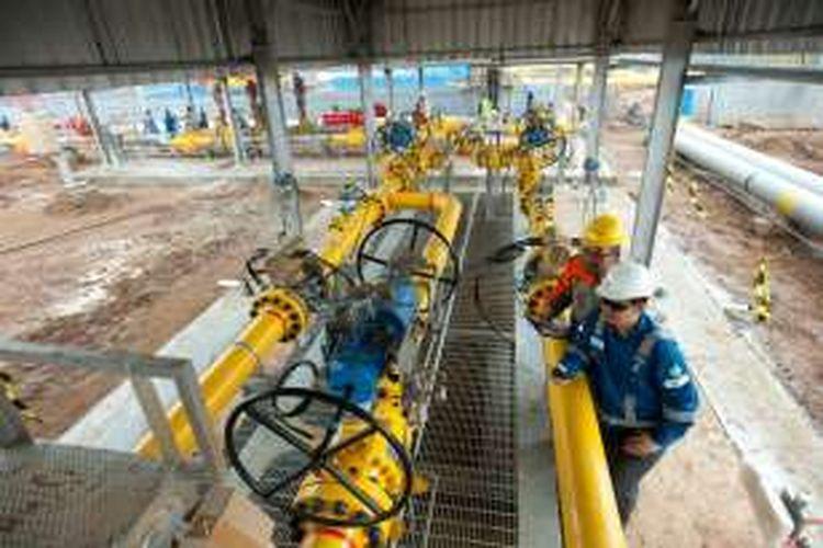 Pembangunan pipa gas PGN Muara Karang-Muara Bekasi