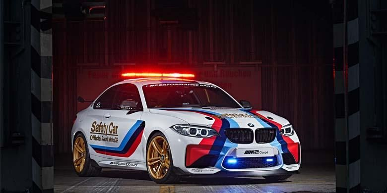 BMW M2 Coupe Safety Car MotoGP 2016.