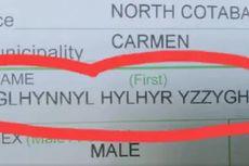 Bayi di Filipina Diberi Nama Ghlynnyl Hylhyr Yzzyghyl, Ini Alasannya
