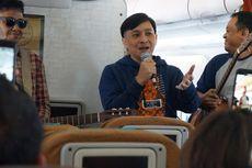 Jelang Batik Music Festival, Yovie Widianto Akustikan di Ketinggian 35 Ribu Kaki