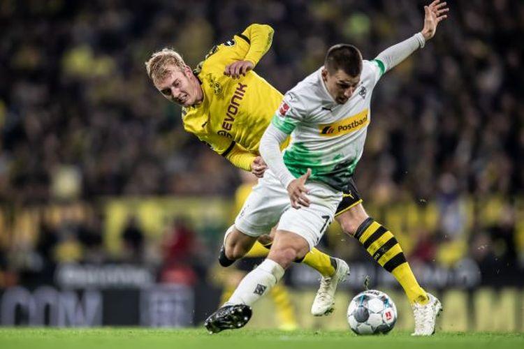Laga sarat gengsi bertajuk derbi Borussia, Moenchengladbach vs Dortmund.