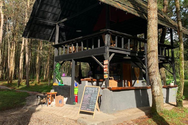 Kafe 24 jam di Jungle Milk
