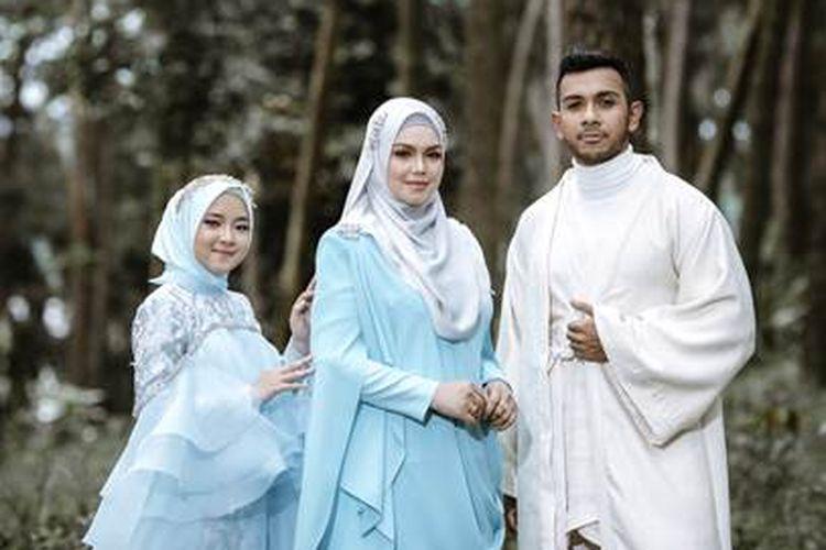 Nissa Sabyan, Siti Nurhaliza, dan Taufik Batisah berkolaborasi dalam lagu Ikhlas.