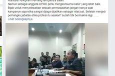 Viral, Anggota DPRD Ucapkan Kata Tak Senonoh Saat Terima Pengunjuk Rasa