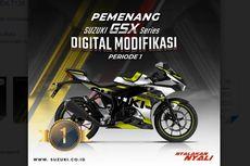 Ini 3 Pemenang Modifikasi Digital Suzuki GSX-R150