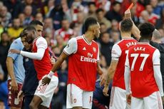Arsenal Vs Aston Villa, Kartu Merah Warnai Kemenangan The Gunners
