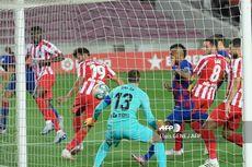 Diwarnai Gol Bunuh Diri dan VAR, Barcelona Vs Atletico Madrid Imbang di Babak Pertama