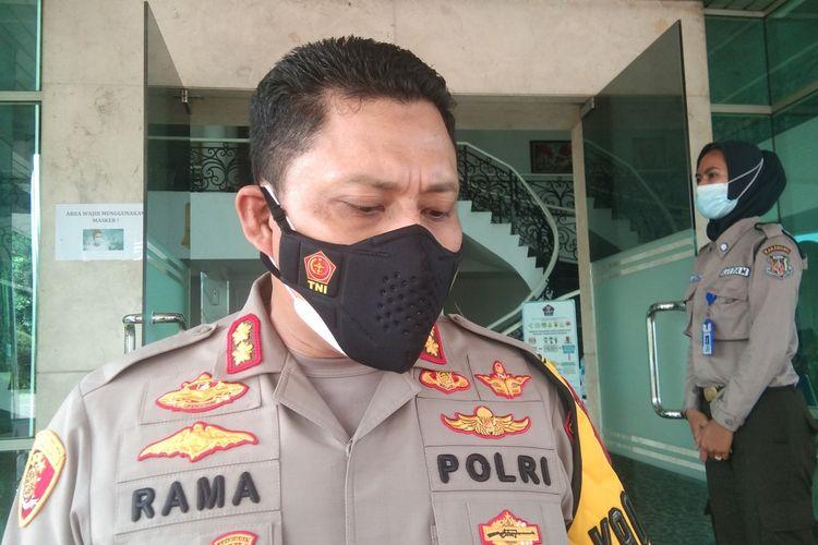Kapolres Karawang AKBP Rama Samtama Putra