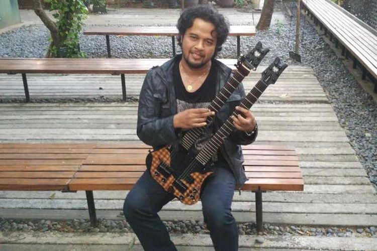 Gitaris I Wayan Balawan di Komunitas Salihara, Pasar Minggu, Jakarta Selatan, Selasa (4/8/2015)