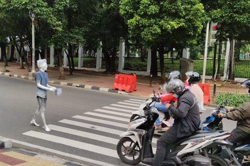 Satpol PP Kota Bekasi Amankan 70 Manusia Silver dalam 10 Bulan Terakhir