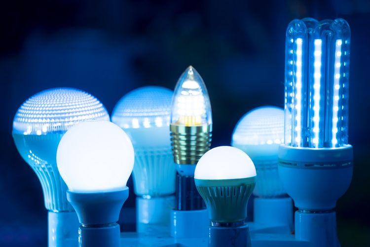 ilustrasi lampu led
