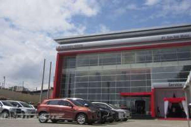Diler mobil penumpang Mitsubishi pertama di Bogor.