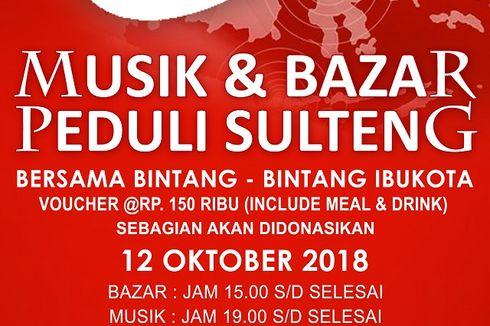 Bazar dan Musik Peduli Sulteng