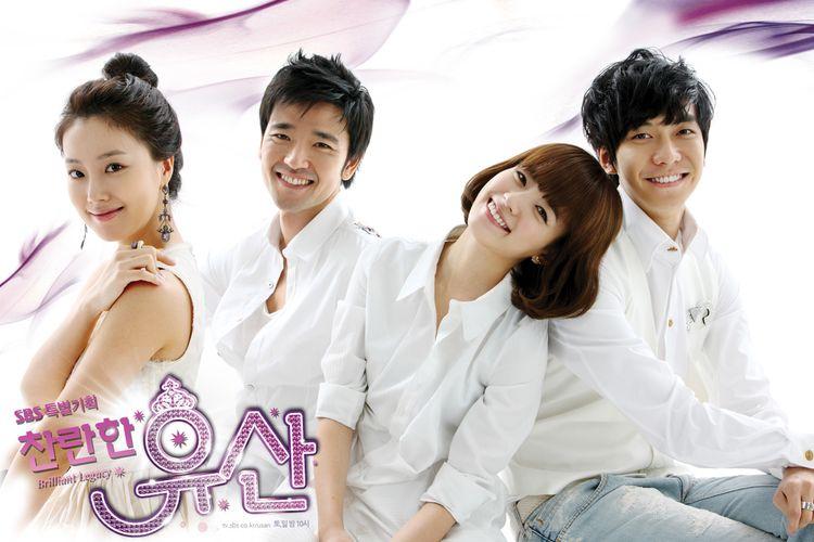 Poster drama Korea Brilliant Legacy