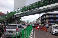 Denda untuk Penyeberang Sembarangan di Jalan Kapten Muslihat