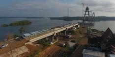 Meski Terkendala Pembebasan Lahan, Pembangunan Jembatan Pulau Balang Sudah 82 Persen