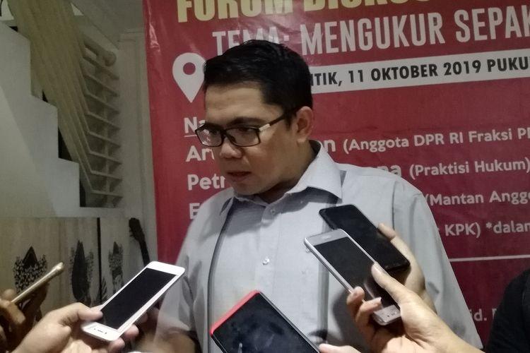 Politikus PDI Perjuangan Arteria Dahlan