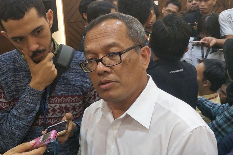 Peneliti LIPI sekaligus tim ahli DPR Poltak Partogi Nainggolan
