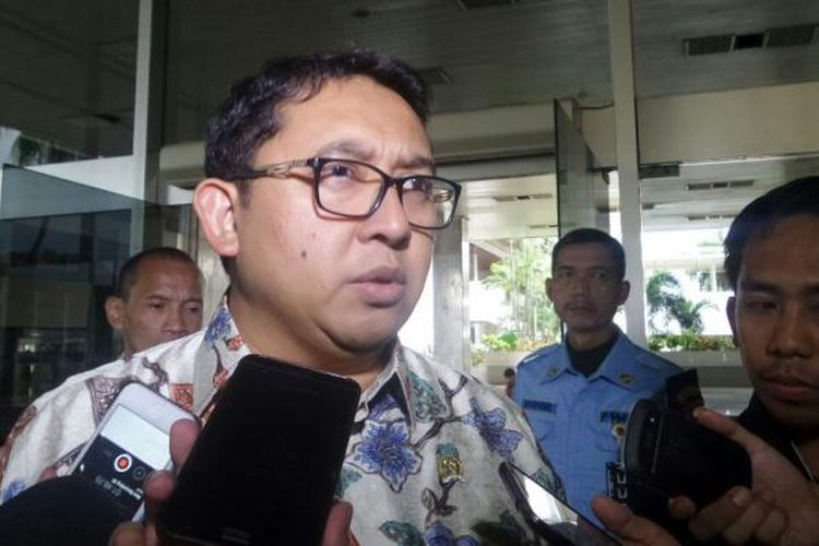 Wakil Ketua DPR RI Fadli Zon di Kompleks Parlemen, Senayan, Jakarta, Rabu (1/3/2017)