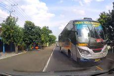 Video Viral Detik-detik Mobil Nyaris Tertabrak Sugeng Rahayu di Madiun, Bagaimana Ceritanya?