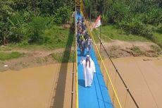 UEA Bangun Jembatan Gantung di Lebak, Banten