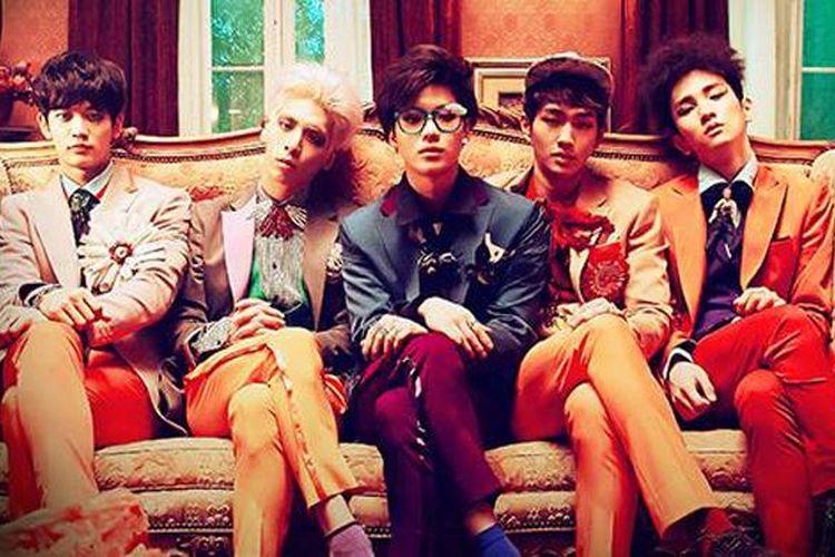 Boyband K-pop SHINee
