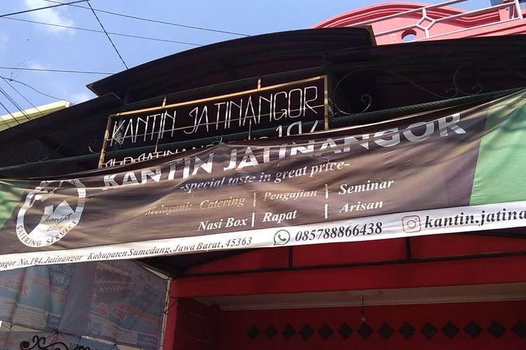 Kantin Jatinangor (Kanjat) di Jatinangor, Sumedang, Jawa Barat.