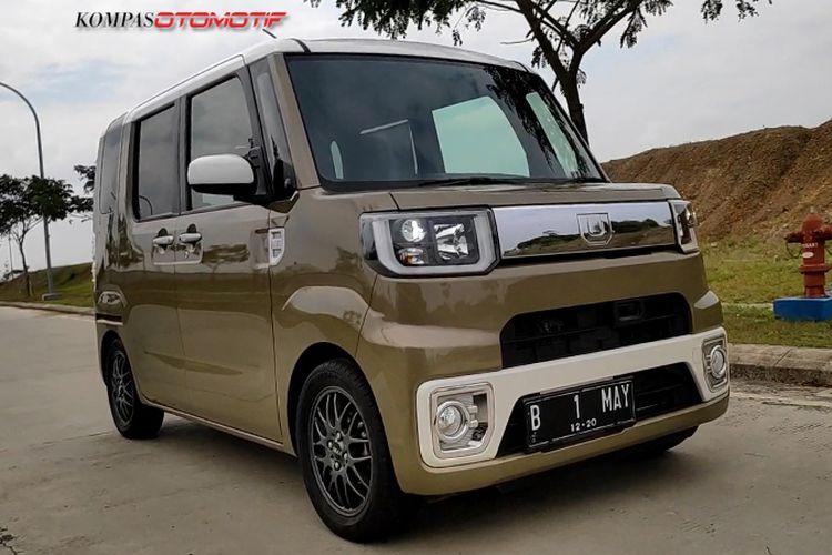 Test jalan Daihatsu Wake di Jakarta