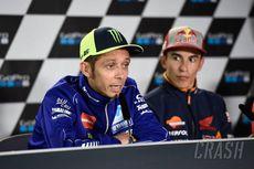 Jelang MotoGP San Marino 2019, Marquez Sebut Rossi Bukan Pesaing Juara