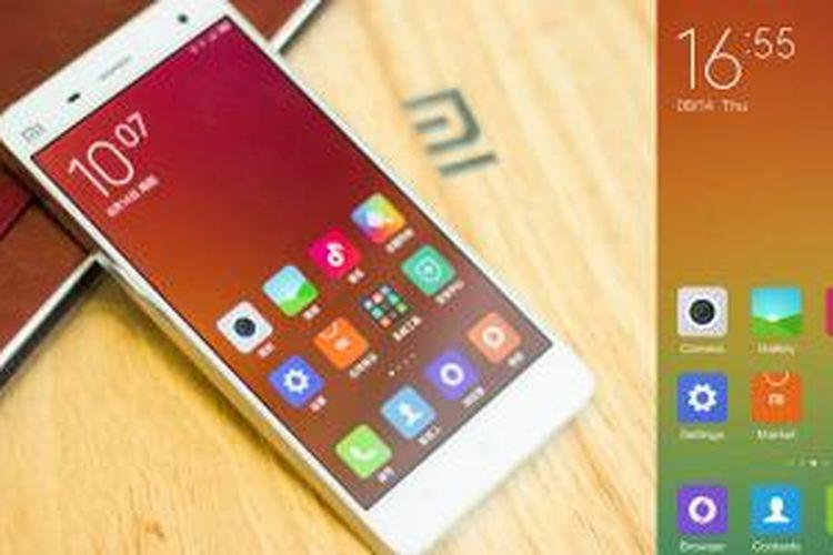 MIUI 6 di ponsel Android Xiaomi Mi4.