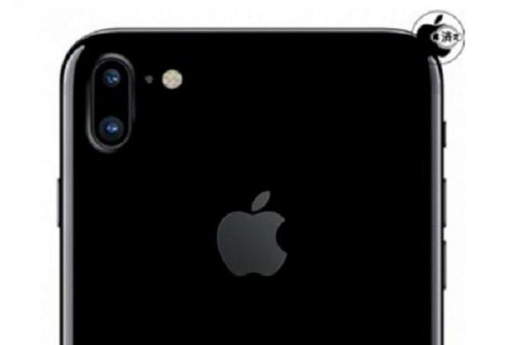 iPhone berikutnya dengan desain kamera ganda vertikal.