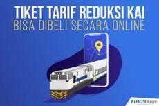 INFOGRAFIK: Tiket Tarif Reduksi KAI, Cara Pembelian dan Persyaratannya